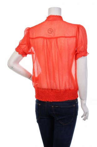 Γυναικείο πουκάμισο Moon, Μέγεθος L, Χρώμα Πορτοκαλί, 100% πολυεστέρας, Τιμή 11,13€