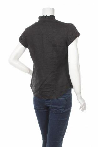 Γυναικείο πουκάμισο S.Oliver, Μέγεθος S, Χρώμα Μαύρο, Τιμή 15,46€