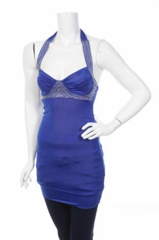 Γυναικείο αμάνικο μπλουζάκι Seductions, Μέγεθος XS, Χρώμα Μπλέ, 91% πολυεστέρας, 9% ελαστάνη, Τιμή 3,16€