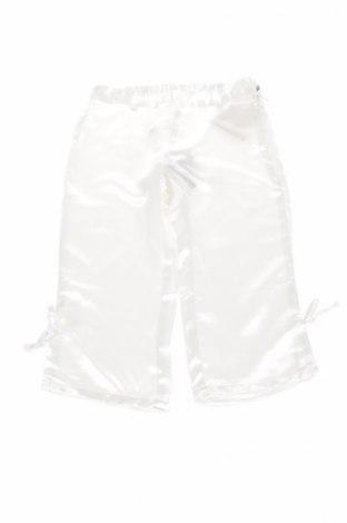 Παιδικό παντελόνι Lemur Caribu, Μέγεθος 6-7y/ 122-128 εκ., Χρώμα Λευκό, 64% βισκόζη, 36% πολυεστέρας, Τιμή 3,87€