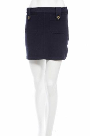 Пола H&M, Размер XS, Цвят Син, 98% памук, 2% еластан, Цена 4,25лв.