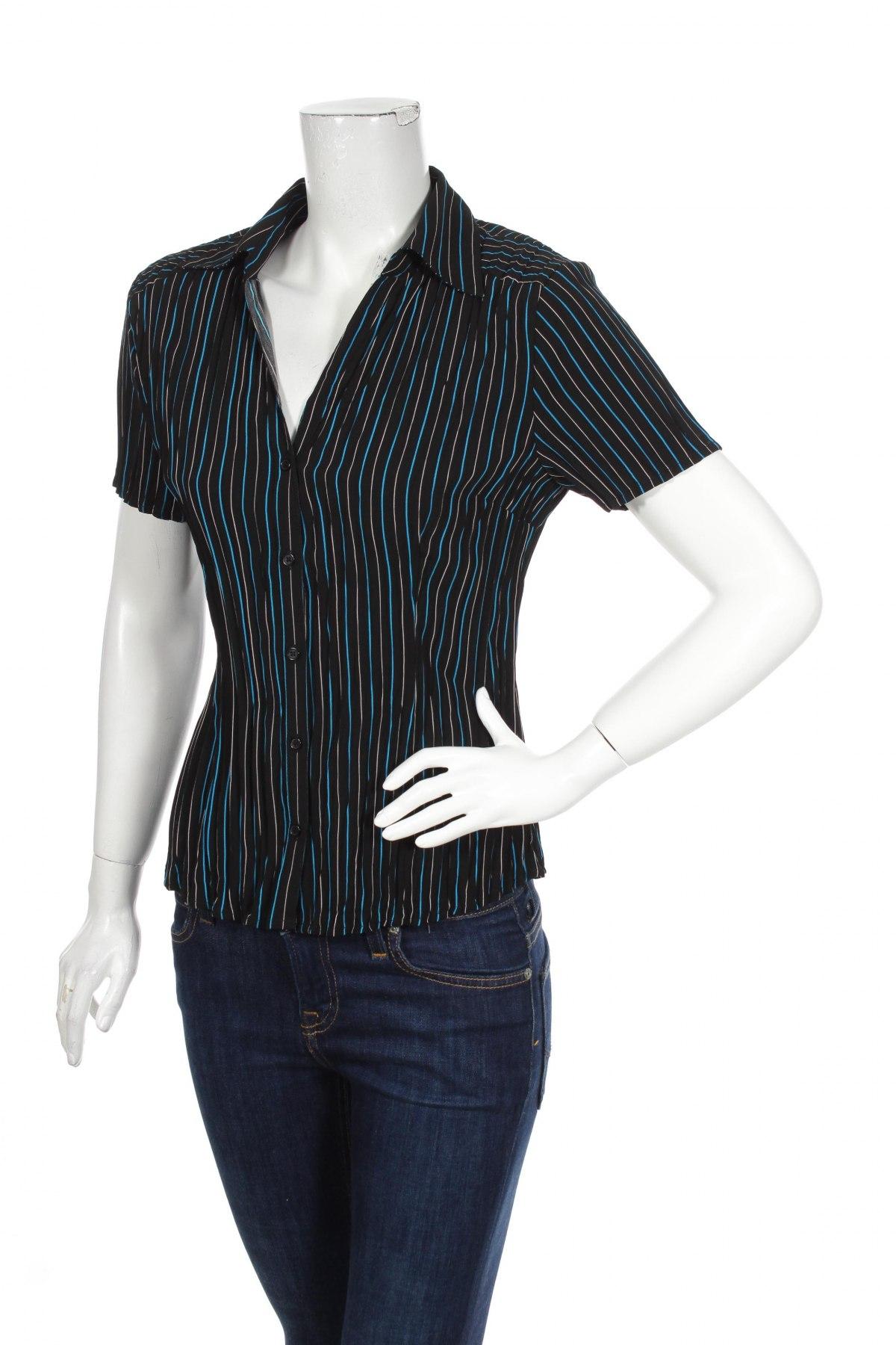 Γυναικείο πουκάμισο Fred David, Μέγεθος S, Χρώμα Πολύχρωμο, 97% πολυεστέρας, 3% ελαστάνη, Τιμή 8,66€