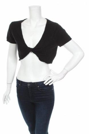 Дамски пуловер Nicole by Nicole Miller, Размер L, Цвят Черен, Акрил, Цена 10,20лв.
