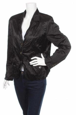 Дамско сако Mark Adam, Размер XL, Цвят Черен, 48% памук, 47% полиестер, 5% метални нишки, Цена 5,50лв.