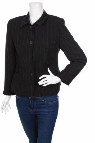 Γυναικείο σακάκι Vittoria Verani, Μέγεθος M, Χρώμα Μαύρο, Ασετάτ, Τιμή 3,39€