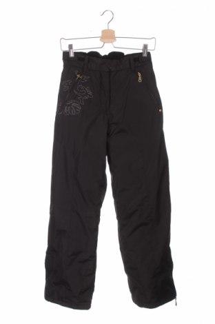 Παιδικό παντελόνι για χειμερινά σπορ Peak Mountain, Μέγεθος 11-12y/ 152-158 εκ., Χρώμα Μαύρο, 100% πολυεστέρας, Τιμή 69,07€