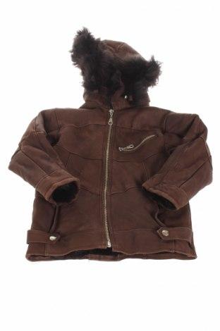 Detská kožená bunda