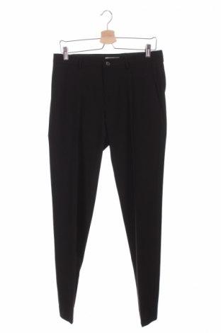 Мъжки панталон Viggo, Размер S, Цвят Черен, 70% полиестер, 24% вискоза, 6% еластан, Цена 16,80лв.