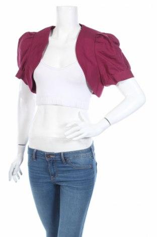 Болеро Easy Wear, Размер XL, Цвят Лилав, 55% лен, 45% памук, Цена 9,00лв.