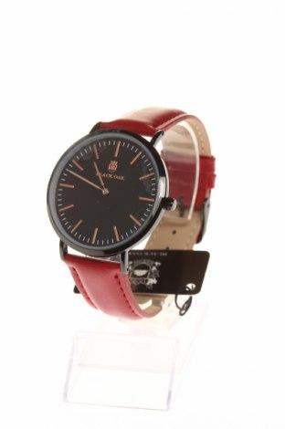 Ρολόι Black Oak, Χρώμα Κόκκινο, Γνήσιο δέρμα, μέταλλο, Τιμή 47,22€