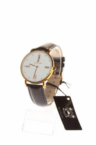 Часовник Black Oak, Цвят Черен, Естествена кожа, метал, Цена 57,25лв.