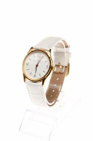 Ρολόι Yonger & Bresson, Χρώμα Λευκό, Δερματίνη, μέταλλο, Τιμή 46,26€
