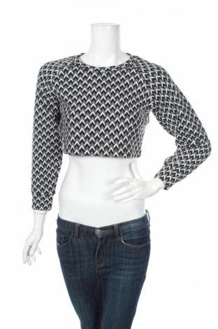 Дамска блуза American Apparel, Размер L, Цвят Бял, 85% полиестер, 15% еластан, Цена 7,25лв.