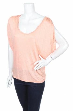 Дамска блуза De.corp By Esprit, Размер S, Цвят Оранжев, Вискоза, Цена 5,58лв.