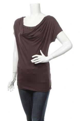 Γυναικεία μπλούζα Lascana, Μέγεθος XS, Χρώμα Καφέ, 95% βισκόζη, 5% ελαστάνη, Τιμή 2,50€