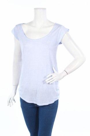 Дамска блуза Ltb, Размер S, Цвят Син, 80% вискоза, 20% лен, Цена 21,12лв.
