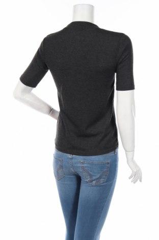 Дамска блуза Ltb, Размер M, Цвят Сив, 67% полиестер, 33% вискоза, Цена 22,08лв.
