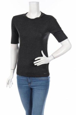 Дамска блуза Ltb, Размер L, Цвят Сив, 67% полиестер, 33% вискоза, Цена 22,08лв.