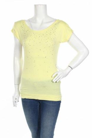 Γυναικεία μπλούζα Maui Wowie, Μέγεθος XS, Χρώμα Κίτρινο, 95% βισκόζη, 5% ελαστάνη, Τιμή 2,48€