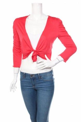 Дамска жилетка Atmos Fashion, Размер S, Цвят Розов, 96% вискоза, 4% еластан, Цена 6,00лв.