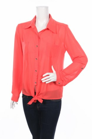 Дамска риза Ambika, Размер L, Цвят Червен, 100% полиестер, Цена 5,50лв.