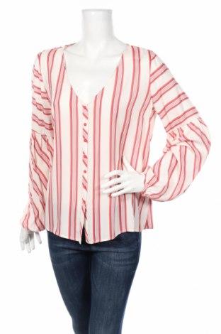 Дамска риза Naf Naf, Размер L, Цвят Многоцветен, Вискоза, Цена 20,30лв.