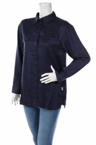 Γυναικείο πουκάμισο Wrangler, Μέγεθος M, Χρώμα Μπλέ, Lyocell, Τιμή 9,12€