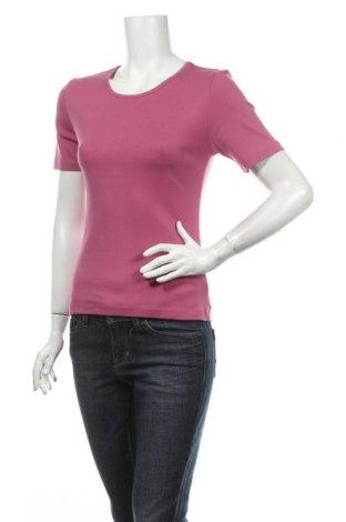 Γυναικείο t-shirt Deerberg, Μέγεθος XS, Χρώμα Ρόζ , Βαμβάκι, Τιμή 1,86€
