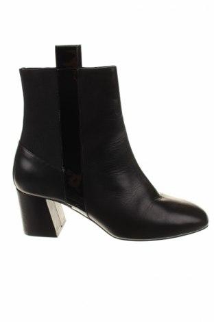 Γυναικεία μποτάκια Furla, Μέγεθος 40, Χρώμα Μαύρο, Γνήσιο δέρμα, Τιμή 172,78€