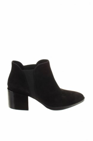 Γυναικεία μποτάκια Joop!, Μέγεθος 40, Χρώμα Μαύρο, Φυσικό σουέτ, κλωστοϋφαντουργικά προϊόντα, Τιμή 201,65€
