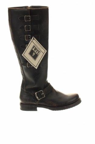 Γυναικείες μπότες Frye, Μέγεθος 36, Χρώμα Μαύρο, Γνήσιο δέρμα, Τιμή 255,26€