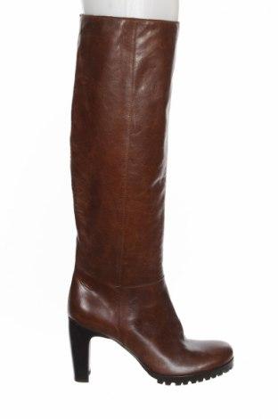 Γυναικείες μπότες Marc Cain, Μέγεθος 38, Χρώμα Καφέ, Γνήσιο δέρμα, Τιμή 252,06€