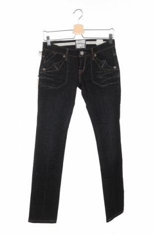 Дамски дънки Bandits Du Monde, Размер XS, Цвят Черен, 99% памук, 1% еластан, Цена 21,83лв.