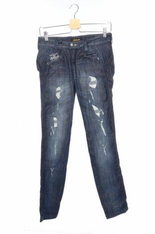 Дамски дънки Killah, Размер XS, Цвят Син, 98% памук, 2% еластан, Цена 20,28лв.