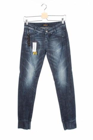 Дамски дънки Killah, Размер S, Цвят Син, 98% памук, 2% еластан, Цена 35,18лв.
