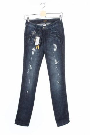 Дамски дънки Killah, Размер XS, Цвят Син, 98% памук, 2% еластан, Цена 19,83лв.