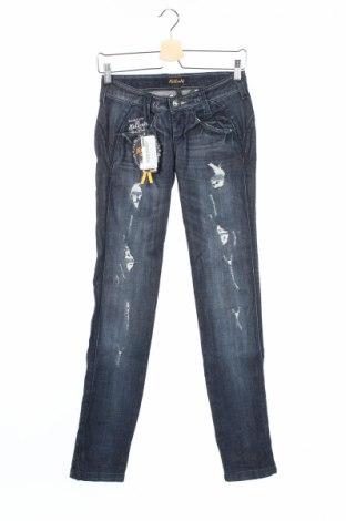 Дамски дънки Killah, Размер XS, Цвят Син, 98% памук, 2% еластан, Цена 17,68лв.