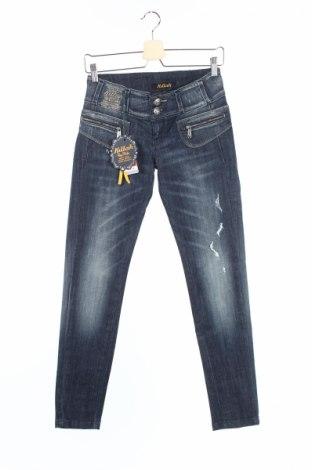 Дамски дънки Killah, Размер XS, Цвят Син, 98% памук, 2% еластан, Цена 21,32лв.