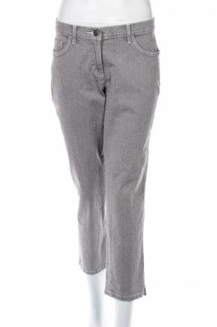 Дамски дънки Madeleine, Размер M, Цвят Сив, 98% памук, 2% еластан, Цена 17,55лв.
