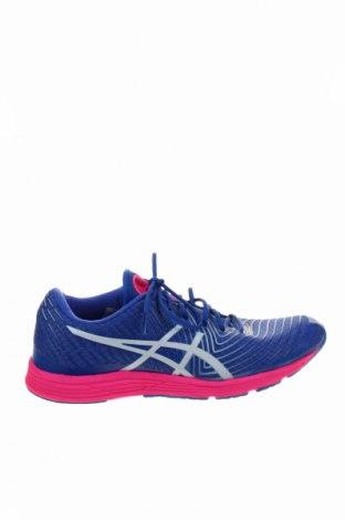 Γυναικεία παπούτσια Asics, Μέγεθος 39, Χρώμα Μπλέ, Κλωστοϋφαντουργικά προϊόντα, δερματίνη, Τιμή 23,27€