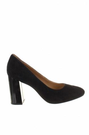 Dámske topánky  Geox, Veľkosť 38, Farba Čierna, Prírodný velur , Cena  52,45€