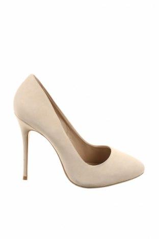Γυναικεία παπούτσια MPS, Μέγεθος 36, Χρώμα  Μπέζ, Γνήσιο δέρμα, Τιμή 27,60€