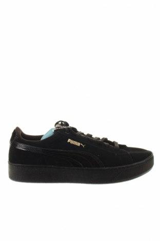 Γυναικεία παπούτσια Puma, Μέγεθος 40, Χρώμα Μαύρο, Γνήσιο δέρμα, δερματίνη, Τιμή 34,84€