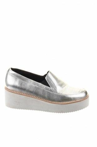 Încălțăminte de damă Sol Sana, Mărime 37, Culoare Argintiu, Piele naturală, Preț 119,00 Lei