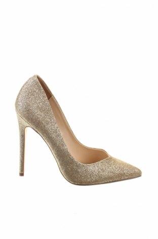 Дамски обувки Steve Madden, Размер 38, Цвят Златист, Еко кожа, Цена 41,70лв.