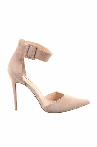 Dámske topánky  Topshop, Veľkosť 40, Farba Ružová, Prírodný velur , Cena  13,15€