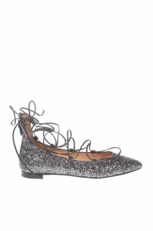 Γυναικεία παπούτσια Twin-Set Simona Barbieri, Μέγεθος 37, Χρώμα Πράσινο, Γνήσιο δέρμα, κλωστοϋφαντουργικά προϊόντα, Τιμή 28,22€