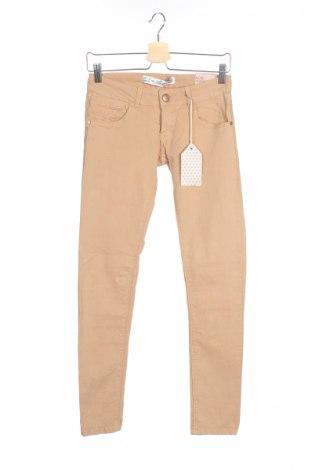Дамски панталон Allcott, Размер S, Цвят Бежов, 99% памук, 1% еластан, Цена 13,50лв.