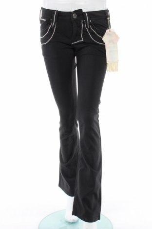 Γυναικείο παντελόνι Bandits Du Monde, Μέγεθος S, Χρώμα Μαύρο, 97% βαμβάκι, 3% ελαστάνη, Τιμή 18,58€