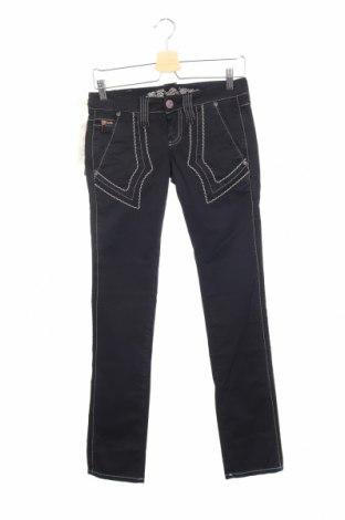 Дамски панталон Bandits Du Monde, Размер XS, Цвят Черен, 97% памук, 3% еластан, Цена 19,00лв.